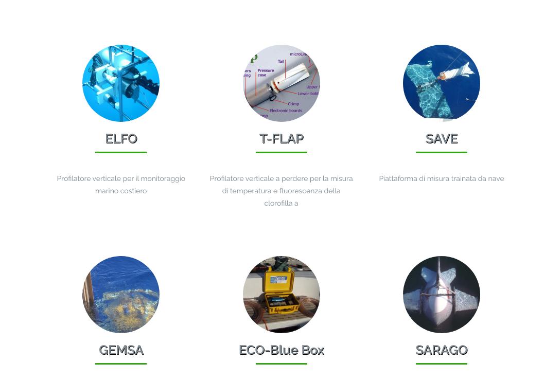 strumenti oceanografici